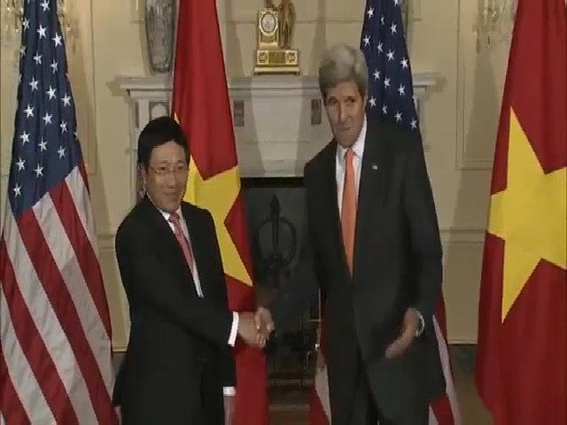 Phó thủ tướng phát biểu tại Bộ Ngoại giao Mỹ