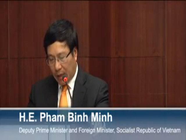 Phó Thủ tướng Phạm Bình Minh: Không có hai quốc gia nào tích cực hơn Việt Nam và Mỹ