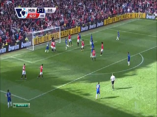 Manchester United 2-1 Everton
