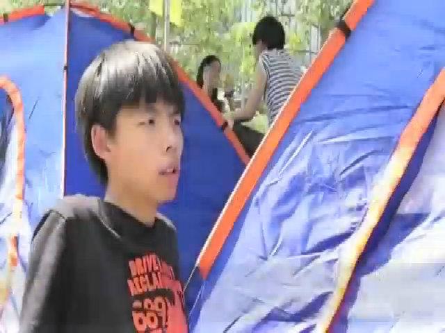 Thủ lĩnh biểu tình Hong Kong yêu cầu Obama thay lời nói bằng hành động