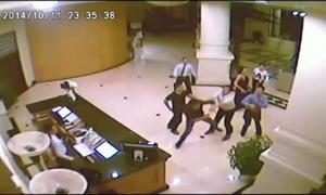 Hỗn chiến trong khách sạn ở Hải Phòng