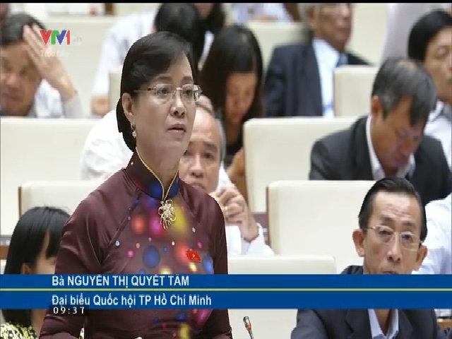 Đại biểu Nguyễn Thị Quyết Tâm nói về khó khăn trong quản lý người nghiện