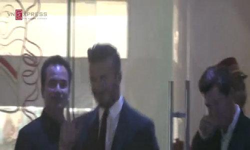 Beckham ăn tối ở TP HCM