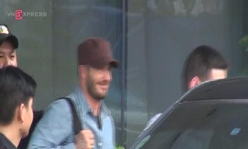 Beckham đến TP HCM lần thứ 2