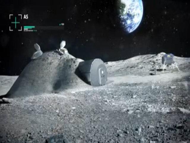 Kế hoạch xây nhà ở trên Mặt Trăng