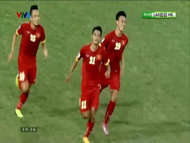Minh Tuấn mở tỷ số cho tuyển Việt Nam