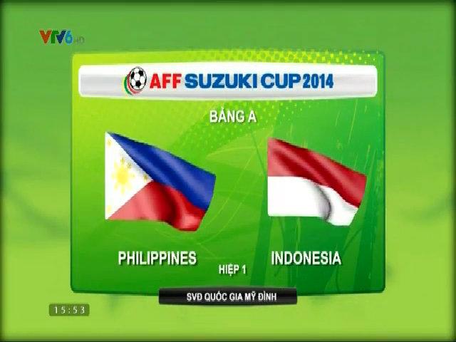 Philippines 4-0 Indonesia