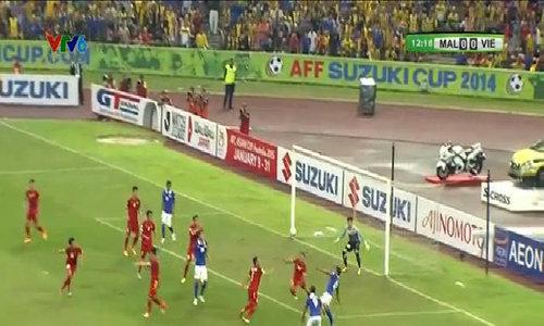 Malaysia mở tỷ số trận đấu