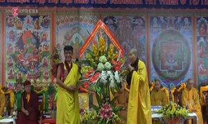 Đại bảo tháp Mandala Tây Thiên có tân trụ trì