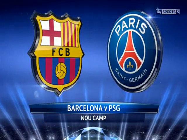 Barcelona 3-1 Paris Saint Germain