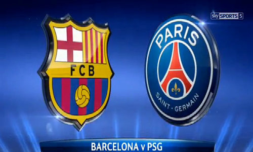 Barcelona 3-1 Paris Saint Germain