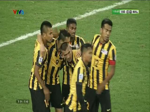 Tỷ số là 2-0 cho Malaysia