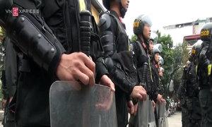 Cảnh sát Hà Nội tung hết quân cho trận bán kết AFF Cup