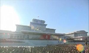 Triều Tiên kỷ niệm ngày mất của Kim Jong-il