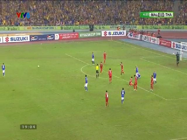 Malaysia 3-2 Thái Lan