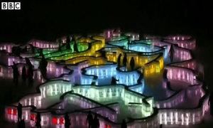 Lễ hội điêu khắc băng tuyết ở Trung Quốc