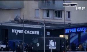 Con tin tháo chạy khỏi tiệm tạp hoá ở Paris