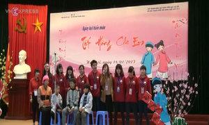 'Tết Hồng' của giới trẻ Hà Nội dành cho trẻ em mắc bệnh máu