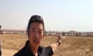 Phóng viên Nhật đưa tin ở Syria trước khi bị IS bắt cóc