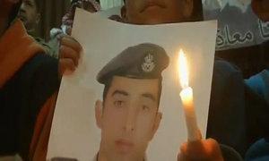 Lễ cầu nguyện cho phi công Jordan nằm trong tay IS