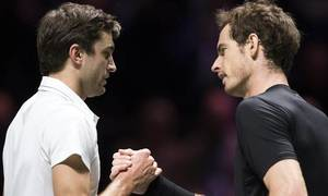 Andy Murray 0-2 Gilles Simon
