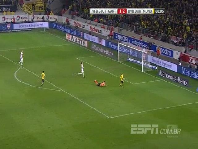 Stuttgart 2-3 Borussia Dortmund