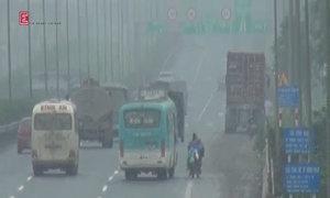 Nhiều phương tiện đi vào đường cấm trên đại lộ Thăng Long