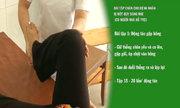 Bài tập chân cho bệnh nhân đột quỵ dạng nhẹ