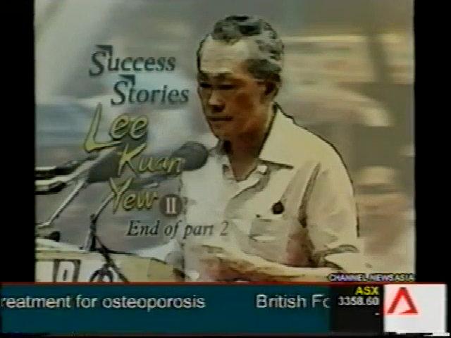 Sự đanh thép trong lời nói của cựu Thủ tướng Singapore Lý Quang Diệu