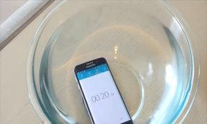 Galaxy S6 Edge bị ngâm nước trong hơn 20 phút