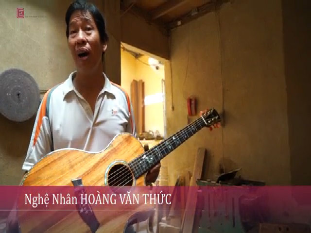 Nghệ nhân nửa thế kỷ làm đàn guitar ở Sài Gòn