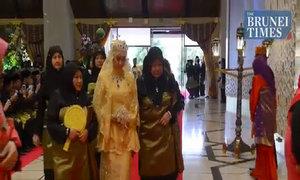 Nghi thức long trọng trong đám cưới hoàng tử Brunei