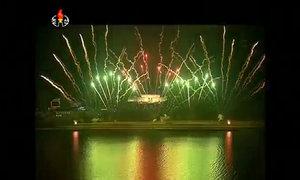 Triều Tiên bắn pháo hoa kỷ niệm ngày sinh Kim Nhật Thành