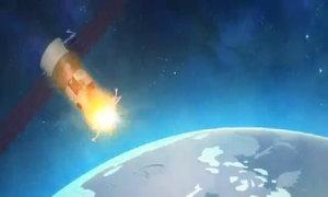 Mô phỏng tàu vũ trụ mất kiểm soát Nga lao xuống Trái Đất