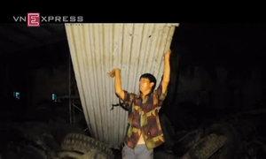 Lốc xoáy hoành hành, hàng chục nhà dân Quảng Ngãi tốc mái