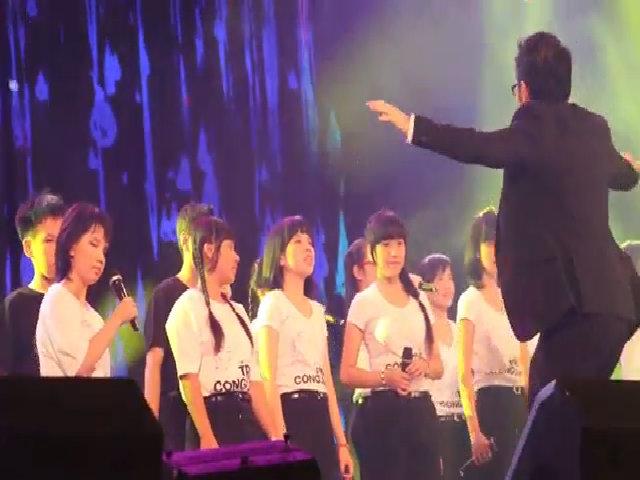Học trò Thanh Bùi cùng trẻ khiếm thị hát nhớ Trịnh Công Sơn