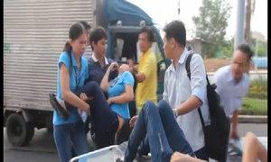 Gần trăm nữ công nhân bỏ chạy, ngất xỉu vì mùi khí lạ