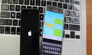 iPhone tự khởi động lại khi nhận tin nhắn ký tự lạ