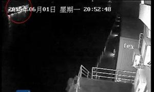Những phút cuối của tàu Trung Quốc trước khi gặp nạn