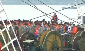Ba phút mặc niệm tưởng nhớ nạn nhân tàu chìm Trung Quốc