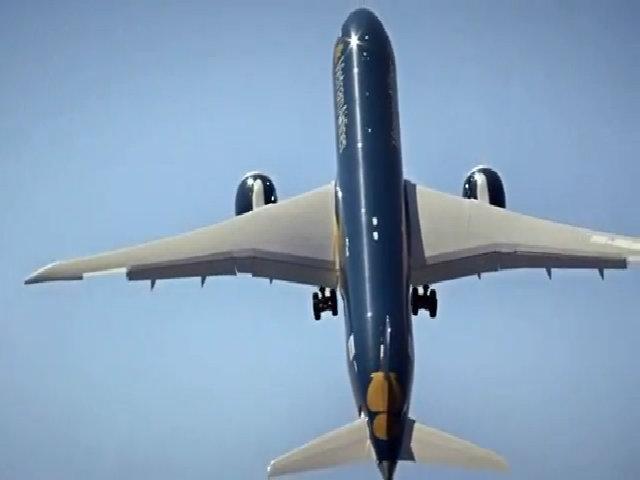 Máy bay Vietnam Airlines tập dượt cho Paris Air Show