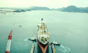 Khám phá nhà máy đóng tàu lớn nhất thế giới tại Hàn Quốc