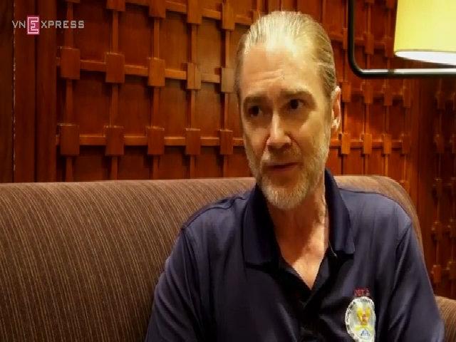 Ron Ward xúc động hồi tưởng về việc tìm kiếm lính Mỹ tại Việt Nam