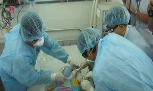 Diễn tập ứng phó khi có bệnh nhi nhiễm MERS tại TP HCM