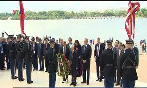 Tổng bí thư thăm nhà tưởng niệm tổng thống Mỹ Thomas Jefferson