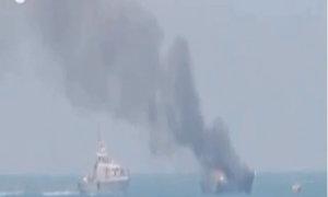 Phiến quân IS nã rocket trúng tàu hải quân Ai Cập