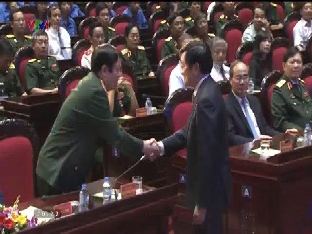Bộ trưởng Phùng Quang Thanh dự chương trình 'Khát vọng đoàn tụ'