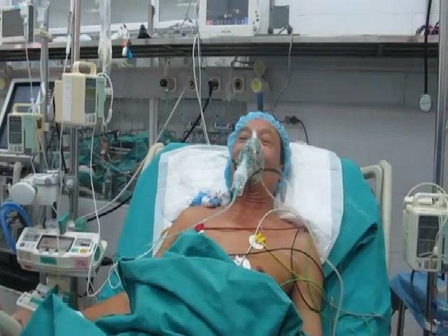 Bệnh nhân được ghép gan
