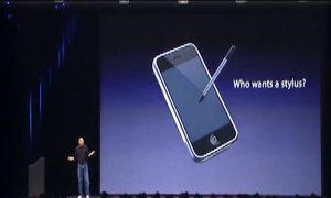 Apple Pencil bị 'ném đá' vì câu nói trước đây của Steve Jobs