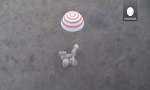Tàu vũ trụ Soyuz thứ 500 trở về Trái Đất an toàn